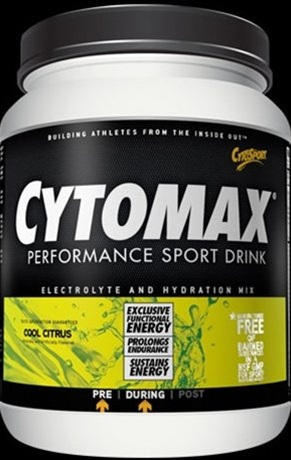 CYTOMAX Performance Sports Drink 15 Pound Canister