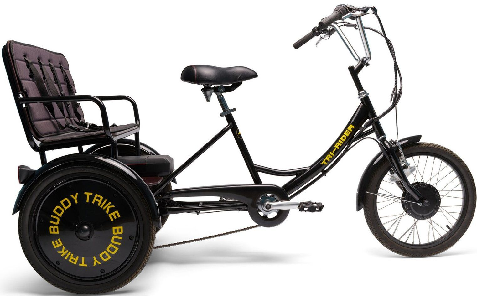 Buddy Trike 2 Passenger 6 Speed Electric Tricycle