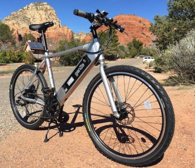 AmericanElectric GenZe E101 350 Watts - 7 Speed Class 2 E-Bike - 20