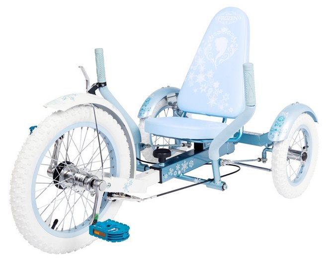Mobo Triton Disney Frozen Three Wheeled Cruiser Tricycle