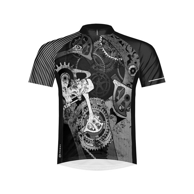 Primal Wear Departed Cycling Jersey Medium