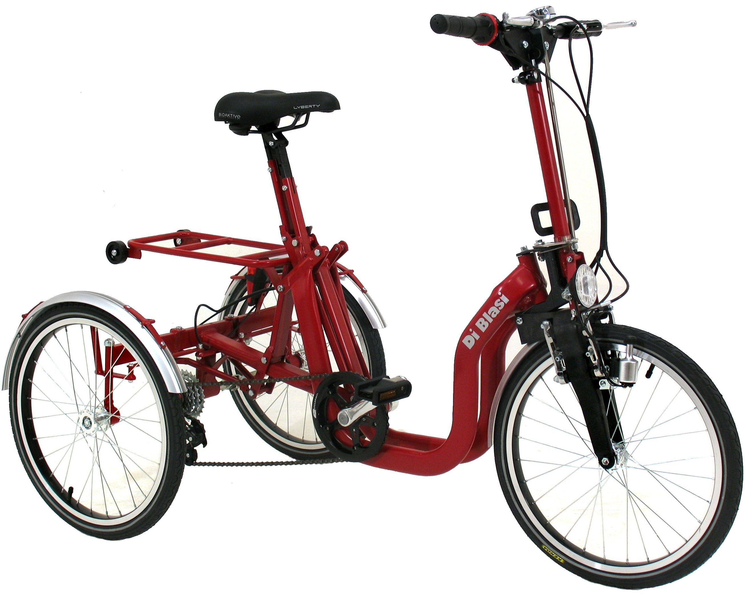 Di Blasi R32 Special Needs Folding 5 Speed Italian Tricycle