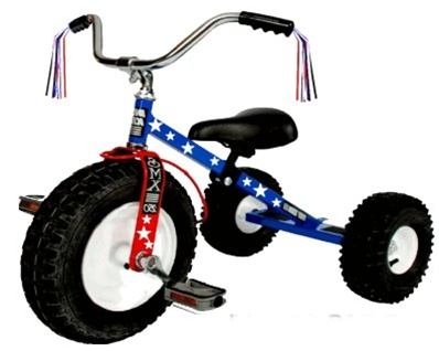 Dirt King Childrens Patriot Off Road Tricycle