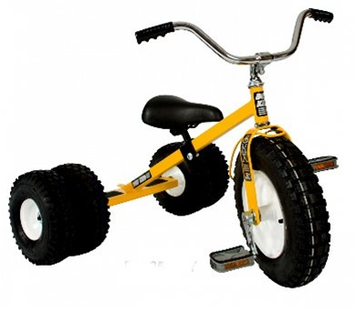 Dirt King Dually Children's Off Road Tricycle