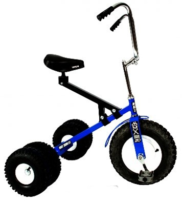 Dirt King Big Kid Dually Off Road Tricycle