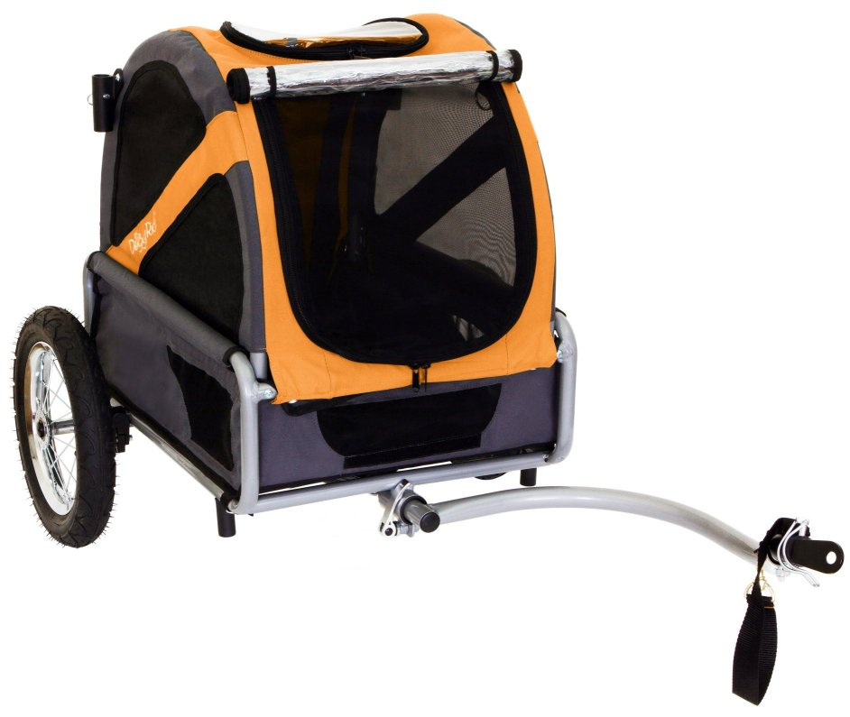 DoggyRide Mini Dog Bicycle Trailer