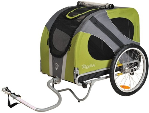 DoggyRide Novel Dog Bicycle Trailer