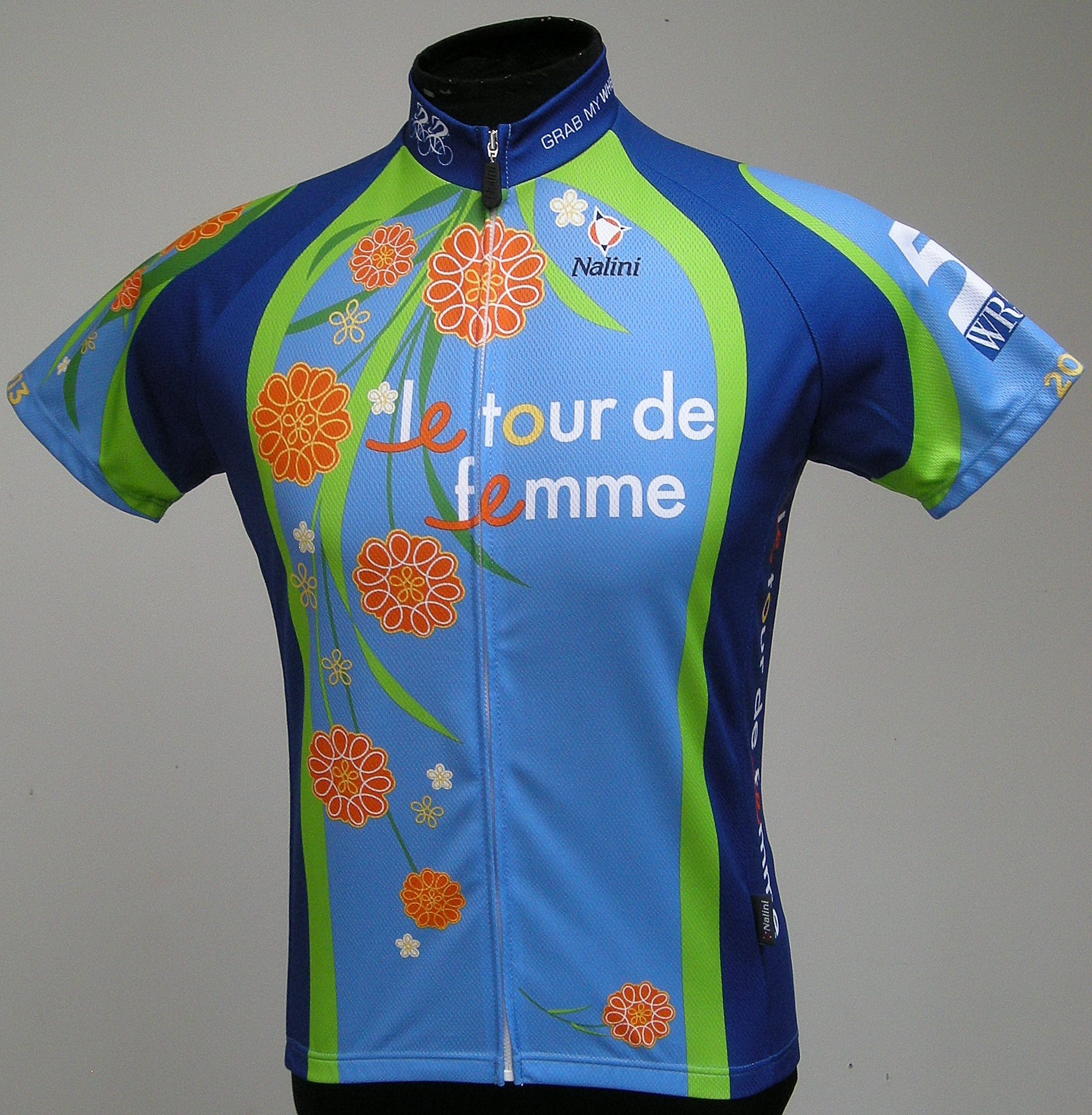 Le Tour de Femme 2013 Breast Cancer Awareness Cycling Jersey