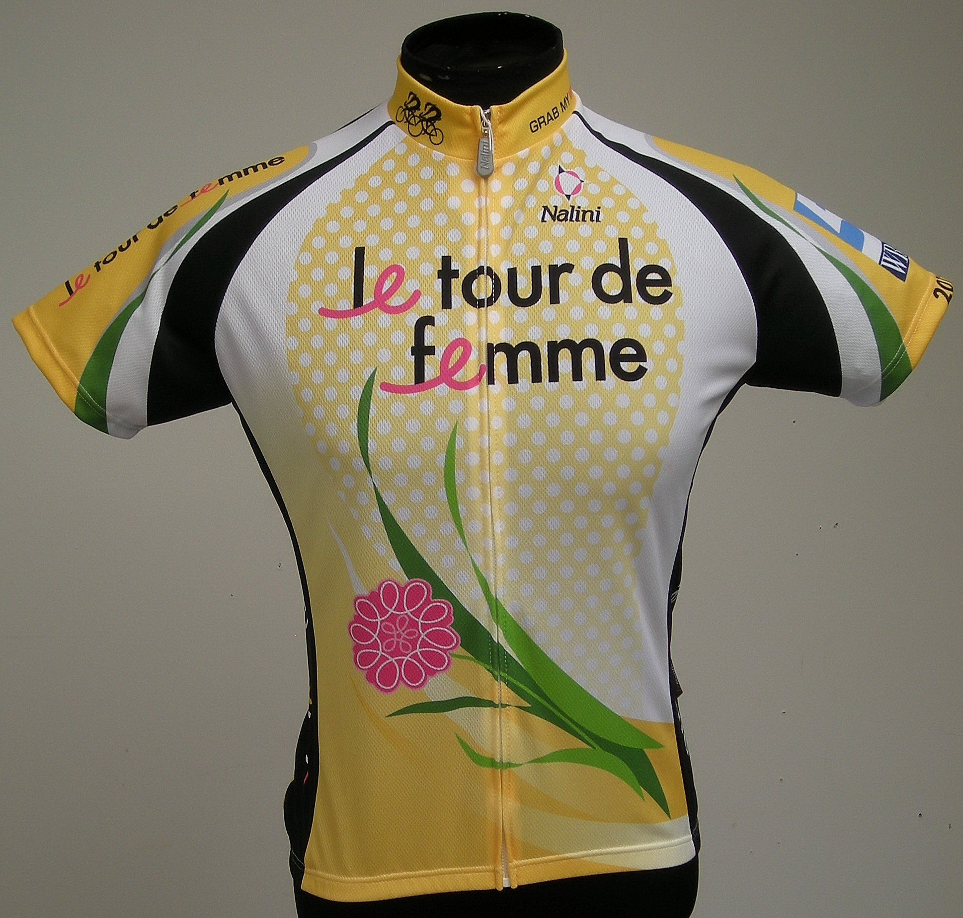 Le Tour de Femme 2012 Breast Cancer Awareness Cycling Jersey
