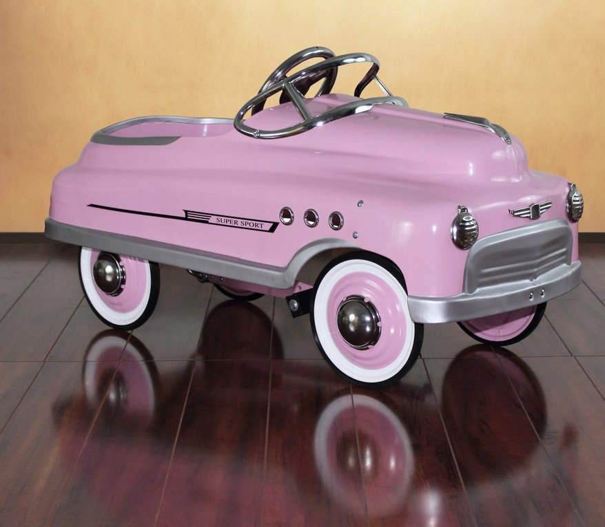 Dexton Pink Comet Sedan Pedal Car