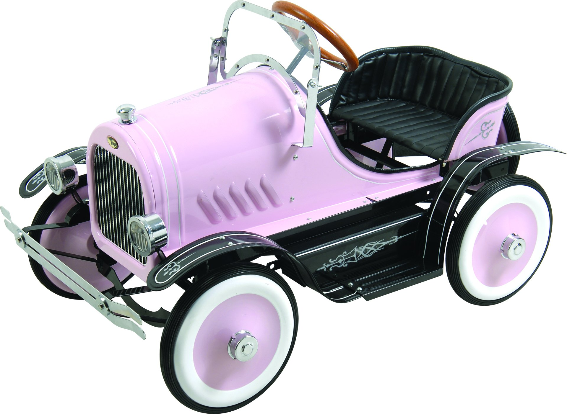 Dexton Deluxe Pink Roadster Pedal Car