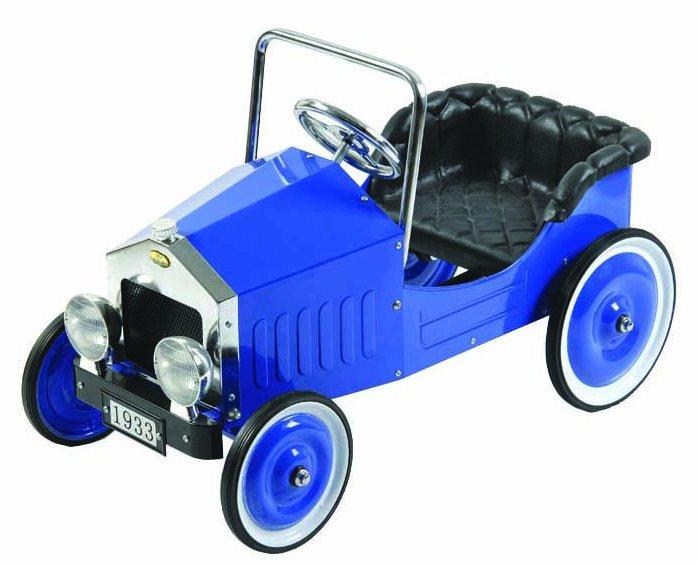 Dexton Voiture Blue Classic Pedal Car