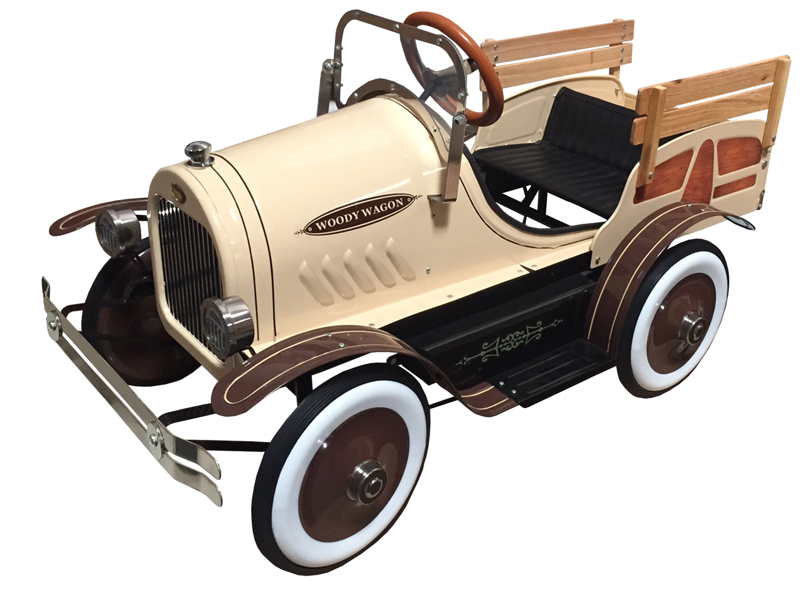 Dexton Woody Delivery Truck Pedal Car