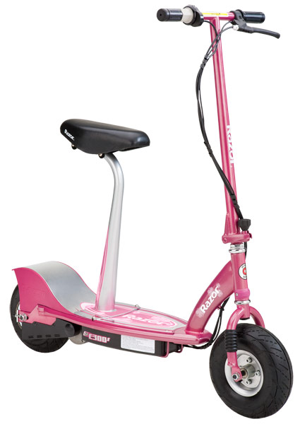 Razor E300s Seated Electric Scooter Sweet Pea