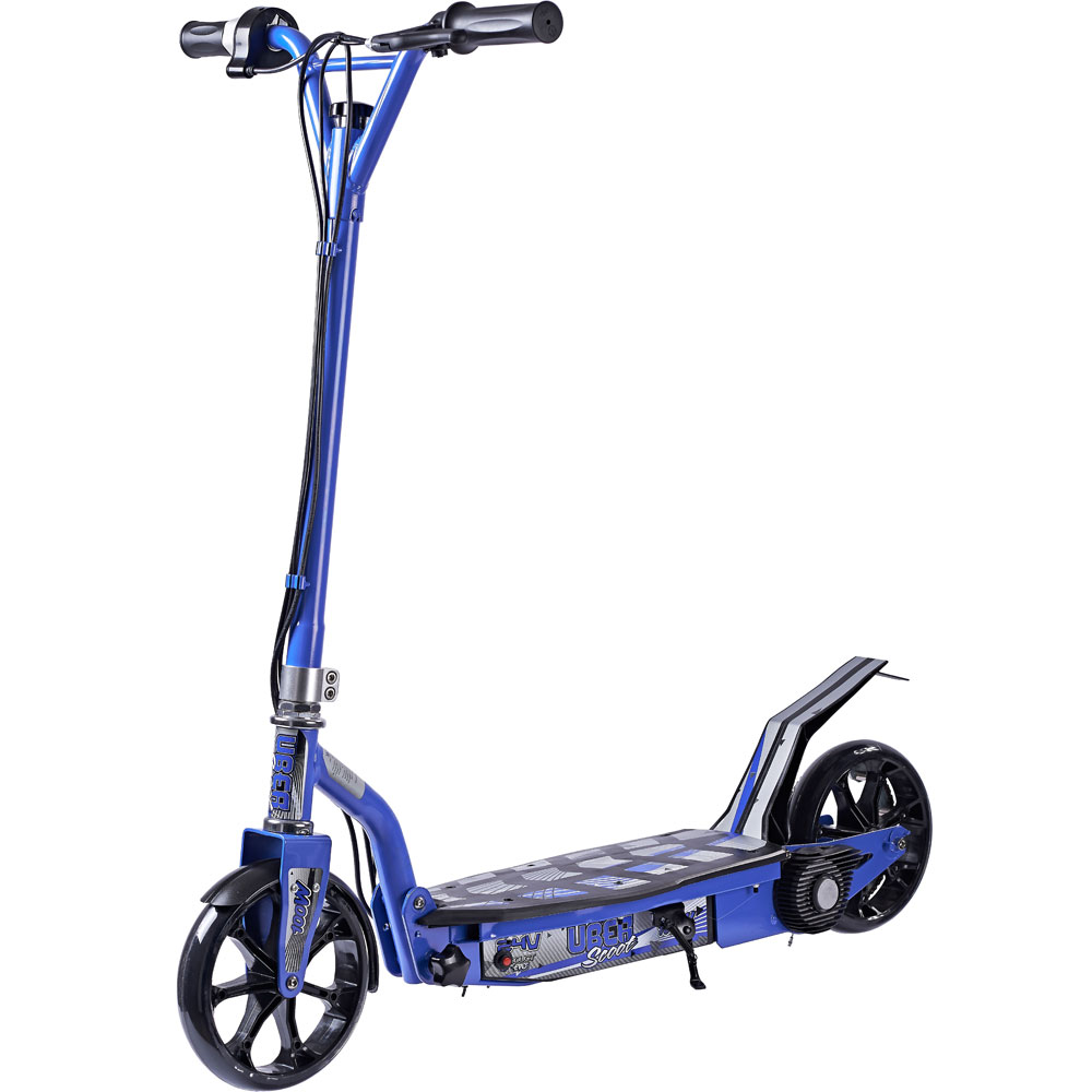 UberScoot 100w Electric Scooter by Evo Powerboards Blue