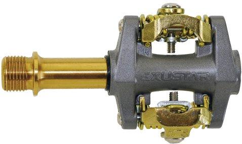 Exustar E PM28 TI Titanium Magnesium Clipless Pedals