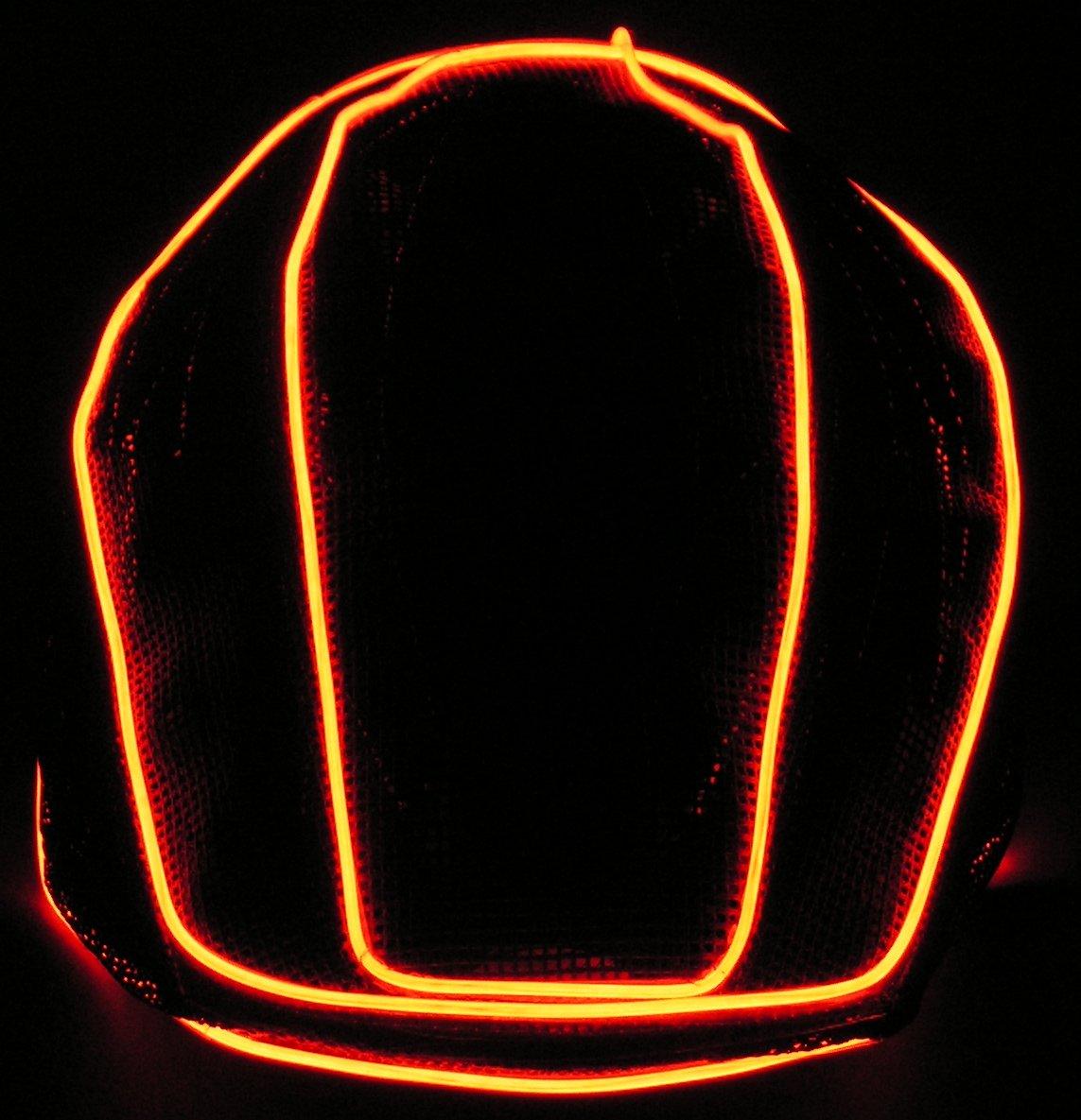 NEON Lighted Helmet Cover