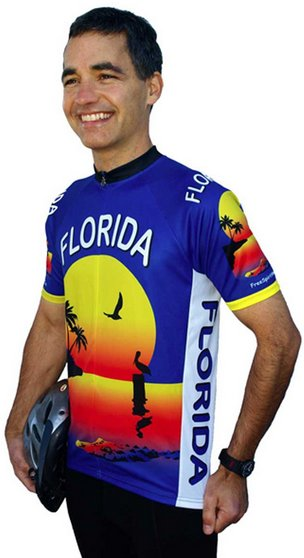 Florida Cycling Jersey Medium