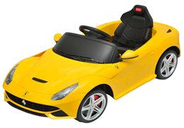 Best Ride On Cars Ferrari F12 12V Yellow