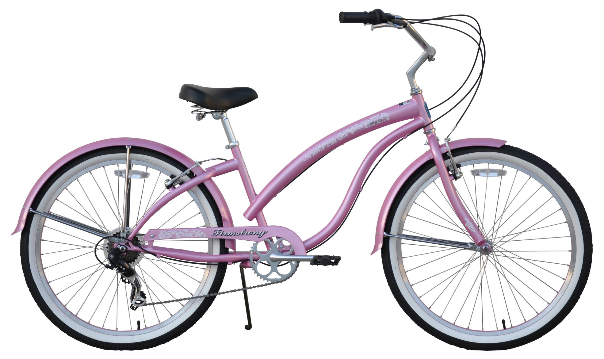 "Firmstrong 26"" Women's Bella Classic 7 Speed Cruiser Bicycle"