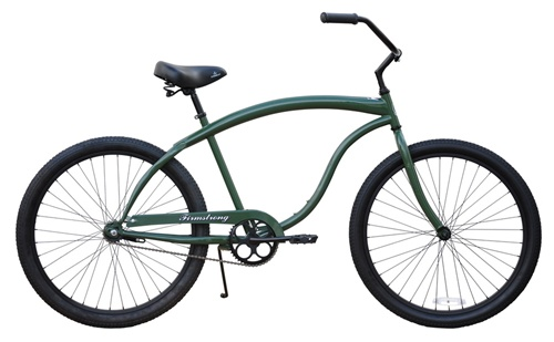 Firmstrong 26 Mens Bruiser PRESTIGE Single Speed Cruiser Bicycle