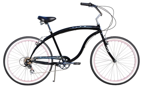 "Firmstrong 26"" Men's Bruiser Prestige 7 Speed Cruiser Bicycle"