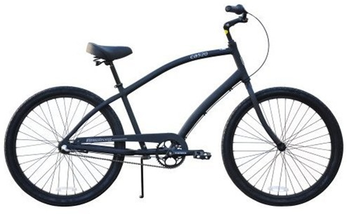 Firmstrong Mens 26 CA 520 3 Speed Alloy Cruiser Bicycle