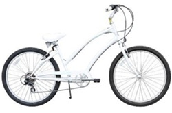 "Firmstrong Women's 26"" CA 520 7 Speed Cruiser Bicycle"