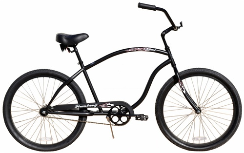 "Firmstrong Chief 26"" Single Speed Cruiser Bicycle"
