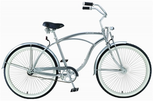 "Firmstrong Men's 26"" Urban LRD Single Speed Beach Cruiser Bicycle"