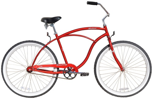 "Firmstrong Men's 26"" Steel Urban Single Speed Cruiser Bicycle"