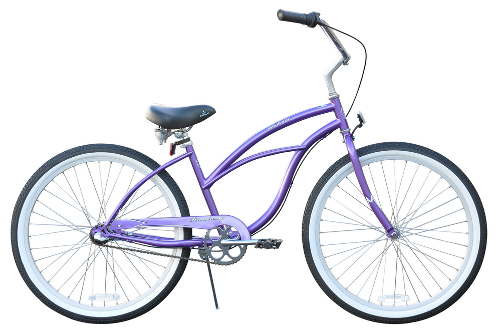"Firmstrong Women's 26"" Steel Three Speed Urban Cruiser Bicycle"