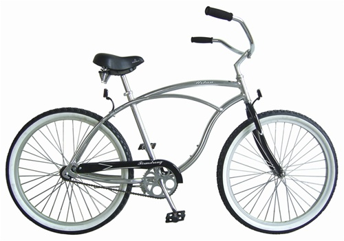 "Firmstrong 26"" Urban Alloy Men's Single Speed Cruiser Bicycle"