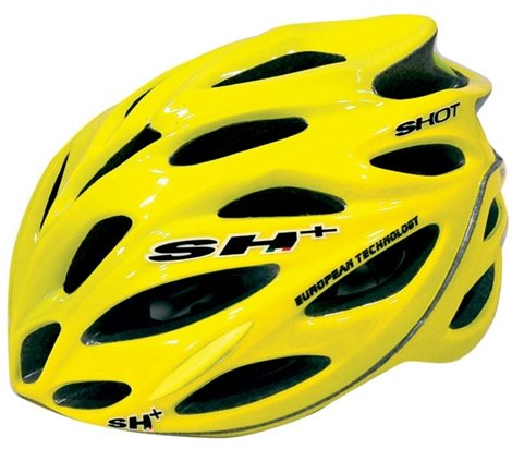 SH Shot Bicycle Helmet Fluo Yellow