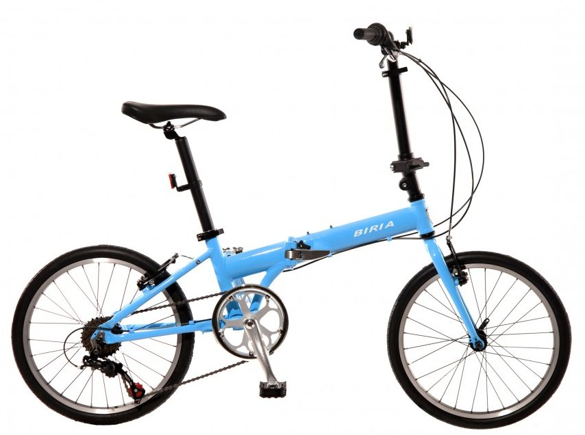 Biria 7 Speed Folding City Bike