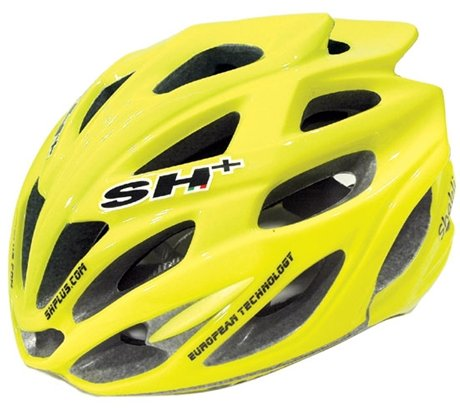 SH+ Shabli Bicycle Helmet Fluo Yellow