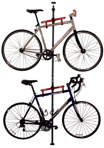 Gear Up Platinum Floor to Ceiling Tension 2 Bike Storage Rack