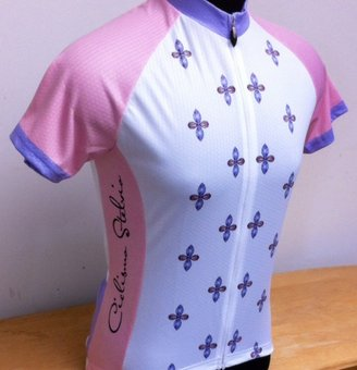 Ciclismo Stelvio Women's Gem Summer Cycling Jersey Large