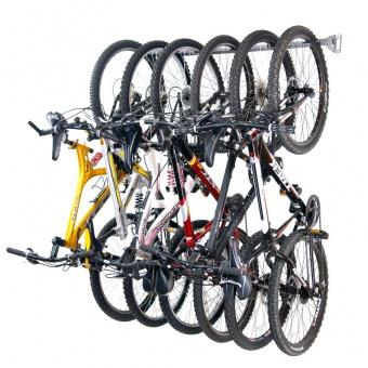 Monkey Bars 6 Bike Wall Rack