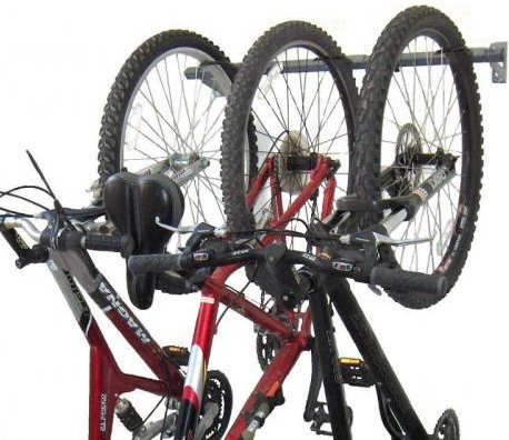 Monkey Bars 3 Bike Wall Rack