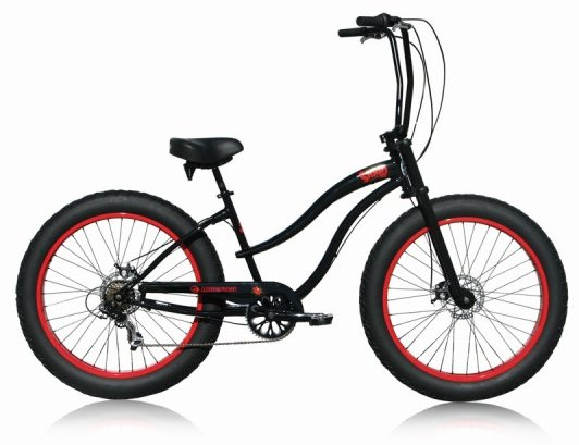 Micargi Girls Slugo SS 7 Speed Fat Tire Bike