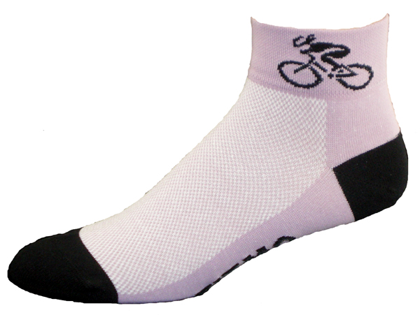 Gizmo Gear Purple Bicycle Cycling Socks