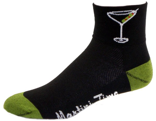 Gizmo Gear Martini Time Cycling Socks
