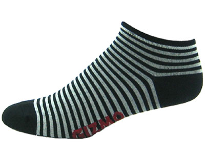Gizmo Gear Black Stripes Cycling Socks