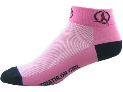 Gizmo Gear Triathlon Girl Pink Cycling Socks