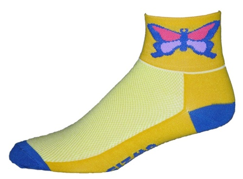 Gizmo Gear Butterfly Cycling Socks