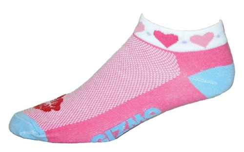 Gizmo Gear Heart Cycling Socks