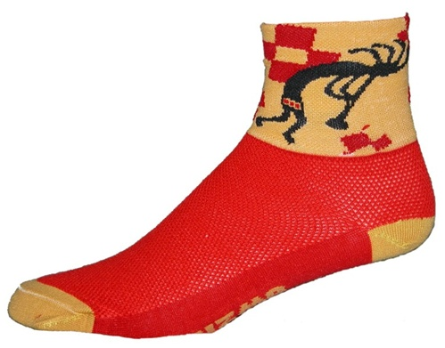 Gizmo Gear Kokopelli Cycling Socks