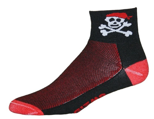 Gizmo Gear Pirate Cycling Socks