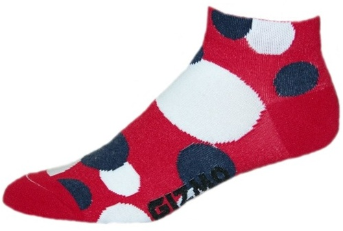 Gizmo Gear Polkadot Cycling Socks
